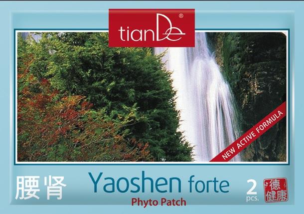 Yaoshen Forte, fytonáplast tianDe, kosmetika tianDe